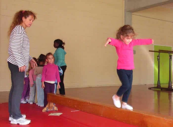 Séances de gym enfant en club sur l'agglomération de bourges